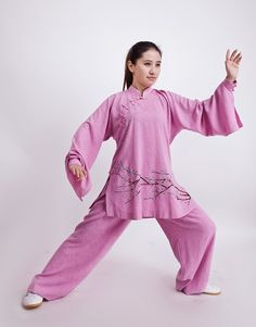Tai Chi clothing, cotton/linen fabric,  accept order! More styles Tai Chi uniforms look up website. http://myadornart.com/products.asp?cid=173