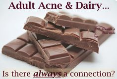 Adult Acne breakouts from chocolate?  Nonsense?  Maybe, maybe not.  Read more on The AcneWhisperer Blog.