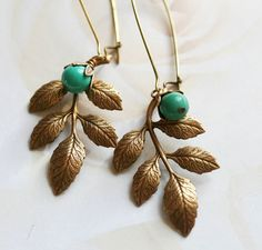 Hey, I found this really awesome Etsy listing at https://www.etsy.com/listing/21808615/katherine-turquoise-earrings-turquoise