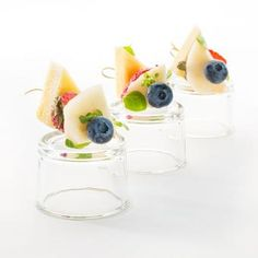 Канапе с фруктами 10 шт