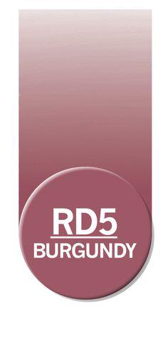 Chameleon Color Tone Pen Burgundy RD5 - Chameleon Art Products Limited