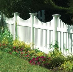 "SCALLOPED CONTEMPORARY 3"" PICKET WITH POINTED CAP (THRU-RAIL)"