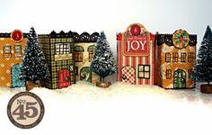 matchbox Christmas village - graphic 45