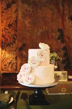 blue disney princess dress winter park casa feliz rollins chapel fairytale wedding WWII parisian themed reception white cake
