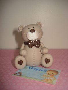 bear with bow