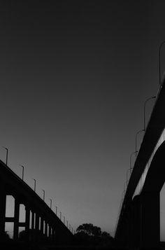 Fragmento do tempo, branco e negro. novembro/2013
