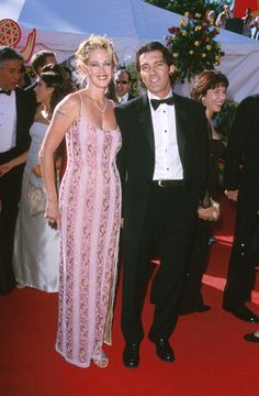 Pin for Later: Look Back at the Former Couples You Forgot Attended the Emmys Together Melanie Griffith and Antonio Banderas, 2000