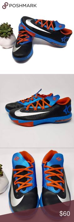 008bed8b5ac9 Nike Kevin Durant VI Sneakers Kevin Durant is an established pro player in  the NBA