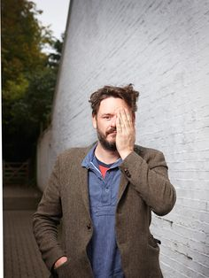 """Julian Barratt """"To maintain a commitment to our level of stupidity is quite hard"""" Mighty Mighty, The Mighty Boosh, Noel Fielding's Luxury Comedy, English Comedians, Julian Barratt, Richard Ayoade, You Rock My World, Russell Brand, British Boys"""