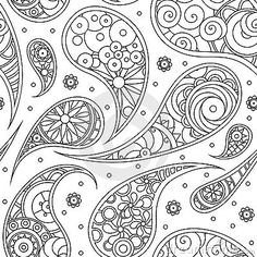 Free Paisley Designs | Royalty Free Stock Photography: Paisley pattern