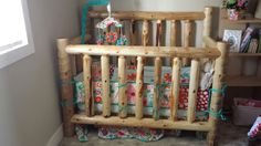 Diy Baby Nursery Furniture Thoughts 17 Ideas For 2019 Baby Crib Diy, Baby Nursery Diy, Baby Nursery Furniture, Baby Boy Rooms, Baby Boy Nurseries, Toddler Furniture, Baby Room, Log Crib, Rustic Baby Cribs