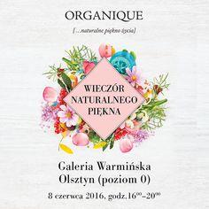 ORGANIQUE Wieczór Naturalnego Piękna w Galerii Warmińskiej w Olsztynie