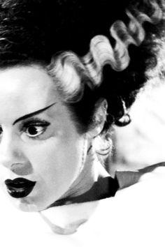 vintagegal:  Elsa Lanchester in The Bride of Frankenstein (1935)