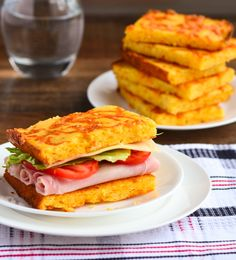 Arkansas Ham and Cheese Cornbread Sandwich - The Spice Kit Recipes (www.thespicekitrecipes.com)