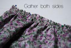 Sewing 101: Gathering