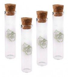 Reagenzglas Mit Korken 10 Cm 48 Stueck Gastgeschenke