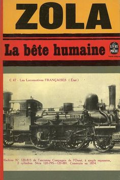 La bête humaine, published by Le Livre de Poche, Paris, 1977. Design: Atelier Pierre Faucheux. Photograph: SNCF. OR INFORMATION ABOUT PIERRE FAUCHEUX AND LE LIVRE DE POCHE, SEE THE ESSAY AT: http://designobserver.com/feature/pierre-faucheux-and-le-livre-de-poche/35318