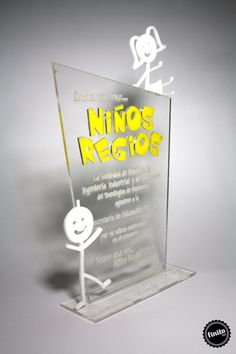 Very cute award with some cool extras