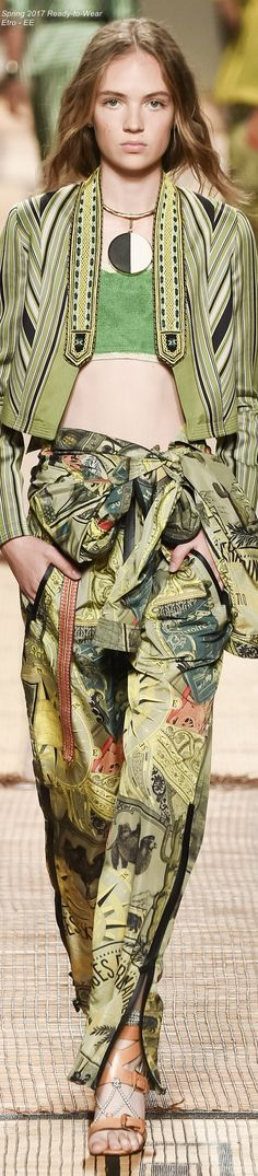 Spring 2017 Ready-to-Wear Etro - EE