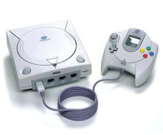 Sega Dreamcast.  Was given to me. I've gotten lots of use out of it by putting Atari and Nintendo emulators on it. Classic Video Games, Retro Video Games, Gaming Computer, Arcade Games, Playstation, Xbox, Retro Game Consoles, Games Consoles, Nintendo