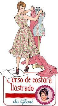 curso de costura para novatas Fashion Sewing, Fashion Fabric, Retro Fashion, Sewing Clothes, Diy Clothes, Sewing Hacks, Sewing Tutorials, Blouse Patterns, Sewing Patterns
