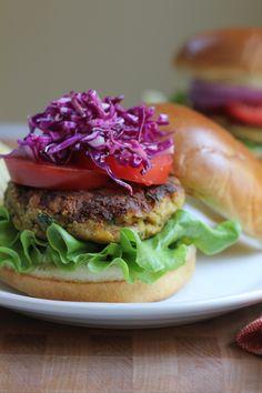 Veggie Chickpea Burger