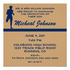 Mens Runner Run Running 2014 Sports Graduation Personalized Invite today price drop and special promotion. Get The best buyReview          Mens Runner Run Running 2014 Sports Graduation Personalized Invite Review on the This website by click the button below...