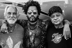 Cheech & Chong with Lenny.