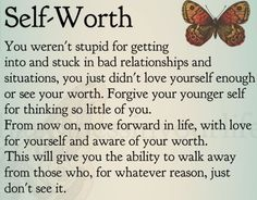 Know your self-worth ladies.