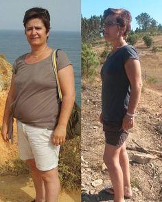 """A Lurdes emagreceu 17Kg em 3 Meses """"É fácil e muito comodo – o apoio e acompanhamento através dos diários, de forma a corrigir os nossos erros, sempre dando as melhores alternativas saudáveis. Aqui aprendi a ter hábitos alimentares saudáveis."""""""