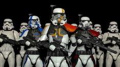 Rancor Battalion by FoxSalsa on DeviantArt Stormtrooper Art, Imperial Stormtrooper, Star Trek, Star Wars Art, Cuadros Star Wars, Galactic Republic, Clone Trooper, Love Stars, Star Wars Characters