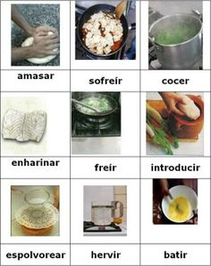 verbos para cocinar 1