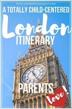 London is one of the best destinations in Europe! Here's the ultimate list of things to do in London that is perfect for kids, and fun for the adults! Europe Destinations, Europe Travel Tips, European Travel, Travel Guides, Travel Uk, Travel Articles, Travel With Kids, Family Travel, Family Vacations