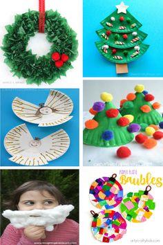 Manualidades de Navidad con platos desechables para hacer con niños Craft Box, Toy Craft, Winter Activities, Preschool Activities, Navidad Diy, Plate Crafts, Paper Toys, Crafts For Kids, Kids Rugs