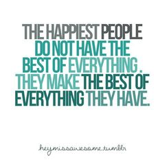 Inspiration For Moms: The Happiest People...