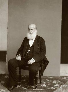 Retrato de D. Pedro II. Por Marc Ferrez, cerca de 1885. Rio de Janeiro, RJ