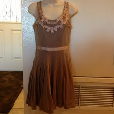 New Blush Colored Dress New blush colored dress. Very pretty dress for the spring/summer. Measures 34 inches. Lauren Conrad Dresses