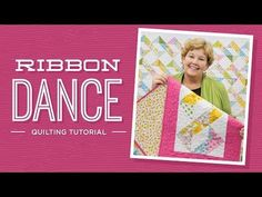 Learn to make the Ribbon Dance Quilt with Jenny! | Missouri Star Quilt Company - YouTube | Bloglovin'