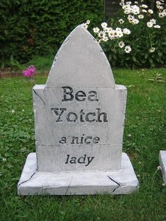 Image result for pictures of fake tombstones