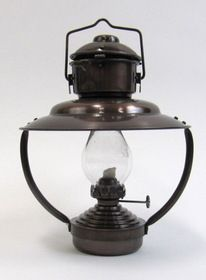 India Overseas Trading IR1517 iron Trawler Lamp / Oil lamp antique finish