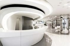 Futuristic Architecture, Sky SOHO by Zaha Hadid Architects, Shanghai, China