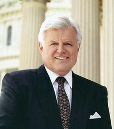 US Senator. EDWARD KENNEDY  he attended Harvard University before being expelled for cheating on an exam. After serving in the United States Army from 1951 to 1953, he was readmitted to Harvard, graduating in 1956. He then studied at The Hague's International Law School, and received his law degree from the University of Virginia in 1959. He was a Regional Manager for his brother John F. Kennedy's successful 1960
