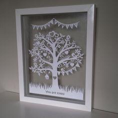 Deluxe Family Tree Papercut