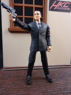 Agent Coulson V2 (Marvel Universe) Custom Action Figure