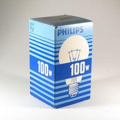 Light Bulb Bo Blue Box Small Globes Packaging Design