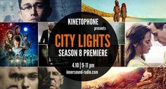 CITY LIGHTS Radioshow: SEASON 8 PREMIERE (podcast now uploaded) Season 8, City Lights, Community, Film, Board, Movie Posters, Image, Movie, Film Stock