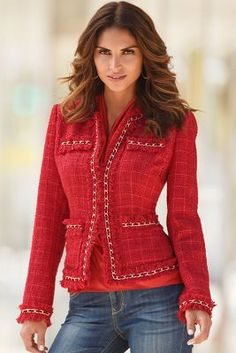 Parisian jacket from Boston Proper