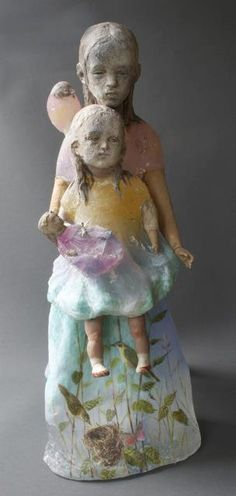 Christina Bothwell < Gravity - I Belong to You > Processes : Cast, Glass, Painted, Found-objects, 26 x 12 x 14 inches or 66 x 30 x 36 cm. Made in:  2013