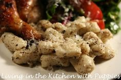 Gnocchi with Thyme Butter Sauce
