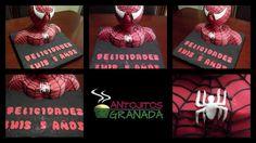 Tarta de spiderman en 3D